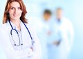 Smiling medical woman doctor Royalty Free Stock Photo