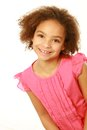 Smiling mixed race girl looking at camera Royalty Free Stock Photo