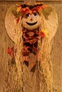 Smiling Scarecrow Face Royalty Free Stock Photo