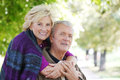 Smiling senior couple Royalty Free Stock Photo