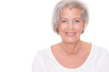 Smiling senior woman Royalty Free Stock Images