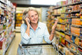 Smiling senior woman on phone call Royalty Free Stock Photo