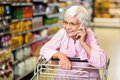 Smiling senior woman on phone Royalty Free Stock Photo
