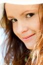 Smiling teen portrait Royalty Free Stock Photo