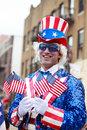Smiling Uncle Sam Royalty Free Stock Image