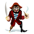 The smilling pirat Royalty Free Stock Photo