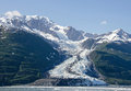 Smith Glacier College Fjord Royalty Free Stock Photo