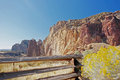 Smith rock area central oregon this is one of many beautiful natural wonders at located close to redmond Royalty Free Stock Photography