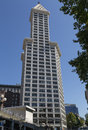 Smith Tower in Seattle Washington Royalty Free Stock Photo