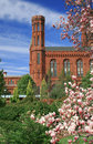 Smithsonian Castle, Landmark of Washington DC Royalty Free Stock Photos
