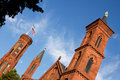 Smithsonian Castle, Washington, DC Royalty Free Stock Images