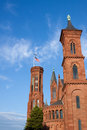 Smithsonian Castle, Washington, DC Stock Photo