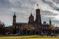 Smithsonian Institution Building on the National Mall Royalty Free Stock Photo