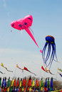 Smithsonian Kite festival Royalty Free Stock Photos