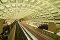 Smithsonian metro station in washington dc Royalty Free Stock Photo