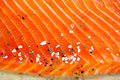Smocked salmon homemade Royalty Free Stock Photo