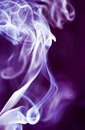 Smoke on Purple Royalty Free Stock Photography