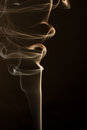 Smoke and silk Royalty Free Stock Photo