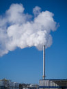 Smoke stack Royalty Free Stock Images