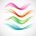 Smoke Wave Background. Vector ...