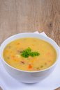 Smoked fish chowder. Royalty Free Stock Photo