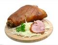 Smoked ham Stock Photo
