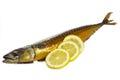Smoked mackerel Royalty Free Stock Photography