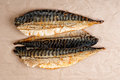 Smoked mackerel Royalty Free Stock Photo