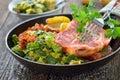 Smoked pork Royalty Free Stock Photo