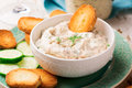 Smoked Salmon  Dip. Royalty Free Stock Photo