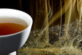 Smoked tea Royalty Free Stock Photos