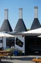 Smokehouse, Svaneke, Bornholm, Denmark Royalty Free Stock Photo