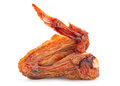 Smokerd chicken wing Royalty Free Stock Photo