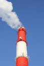 Smokestacks Stock Photography