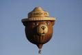 Smokey a bear shot air balloon Stock Images