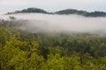 Smokey Mountains Cabins Royalty Free Stock Photo