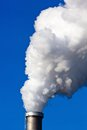 stock image of  Smoking chimneys of a factory