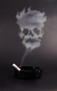 Smoking is a death Royalty Free Stock Photo