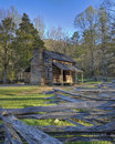 Smoky Mountain Cabin Royalty Free Stock Photo
