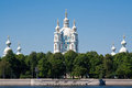 Smolny Cathedral, St. Petersburg Royalty Free Stock Photo