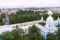 The Smolny Institute Royalty Free Stock Photos