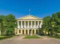 Smolny Institute Building Royalty Free Stock Photo