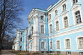 Smolny monastery on a sunny spring day Royalty Free Stock Images
