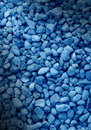 Smooth blue decorative stone background Royalty Free Stock Photo