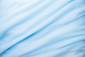 Smooth elegant blue fabric Royalty Free Stock Photo