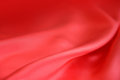 Smooth elegant crimson silk can use as background