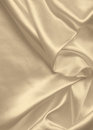 Smooth elegant golden silk or satin texture as background. In Se Royalty Free Stock Photo