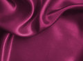Smooth elegant pink silk or satin texture as background Royalty Free Stock Photo