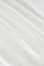 Smooth elegant white silk as wedding background can use Royalty Free Stock Image