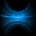 Smooth lines luminous blue colorful. Stock Photo